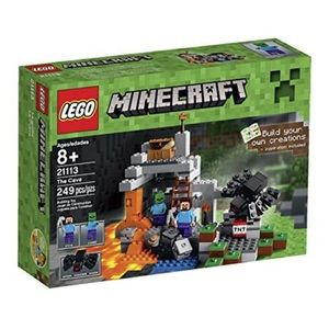 NWT Lego Minecraft The Cave Building Toy 249 piece